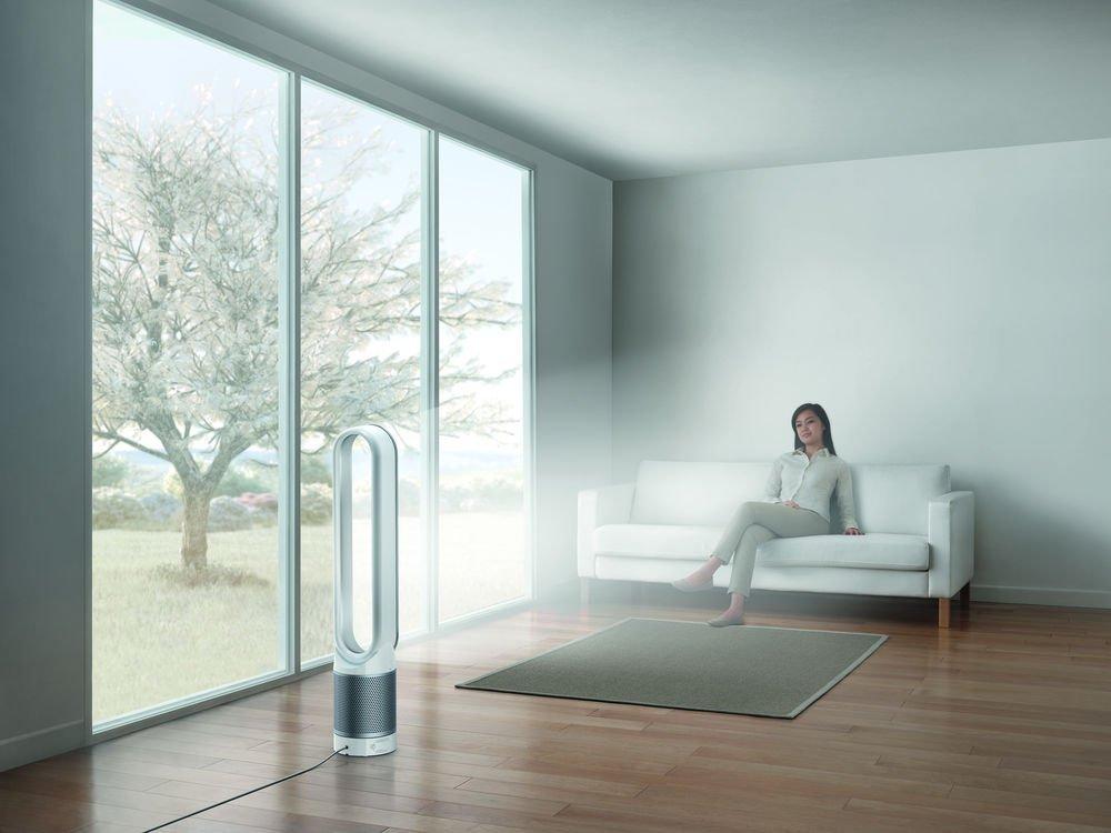 Dyson Luftreiniger im Wohnzimmer