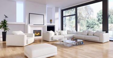 Großzügiges Wohnzimmer - So stellt man einen Luftreiniger richtig auf